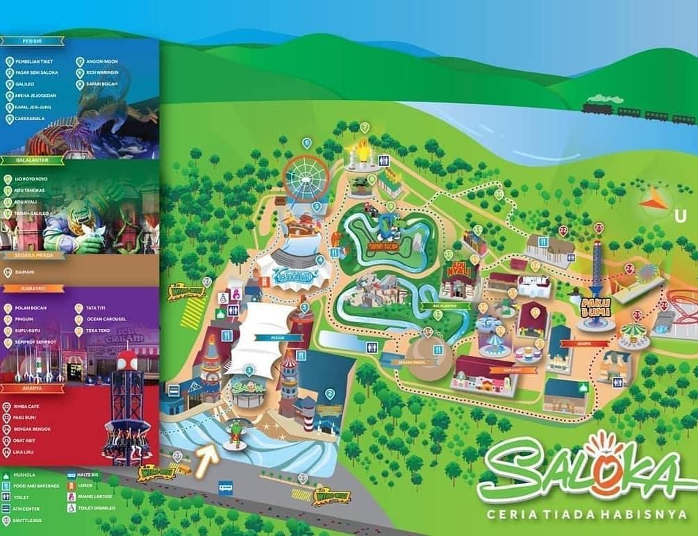 Wisata Semarang Bersiaplah Saloka Theme Park Wisata
