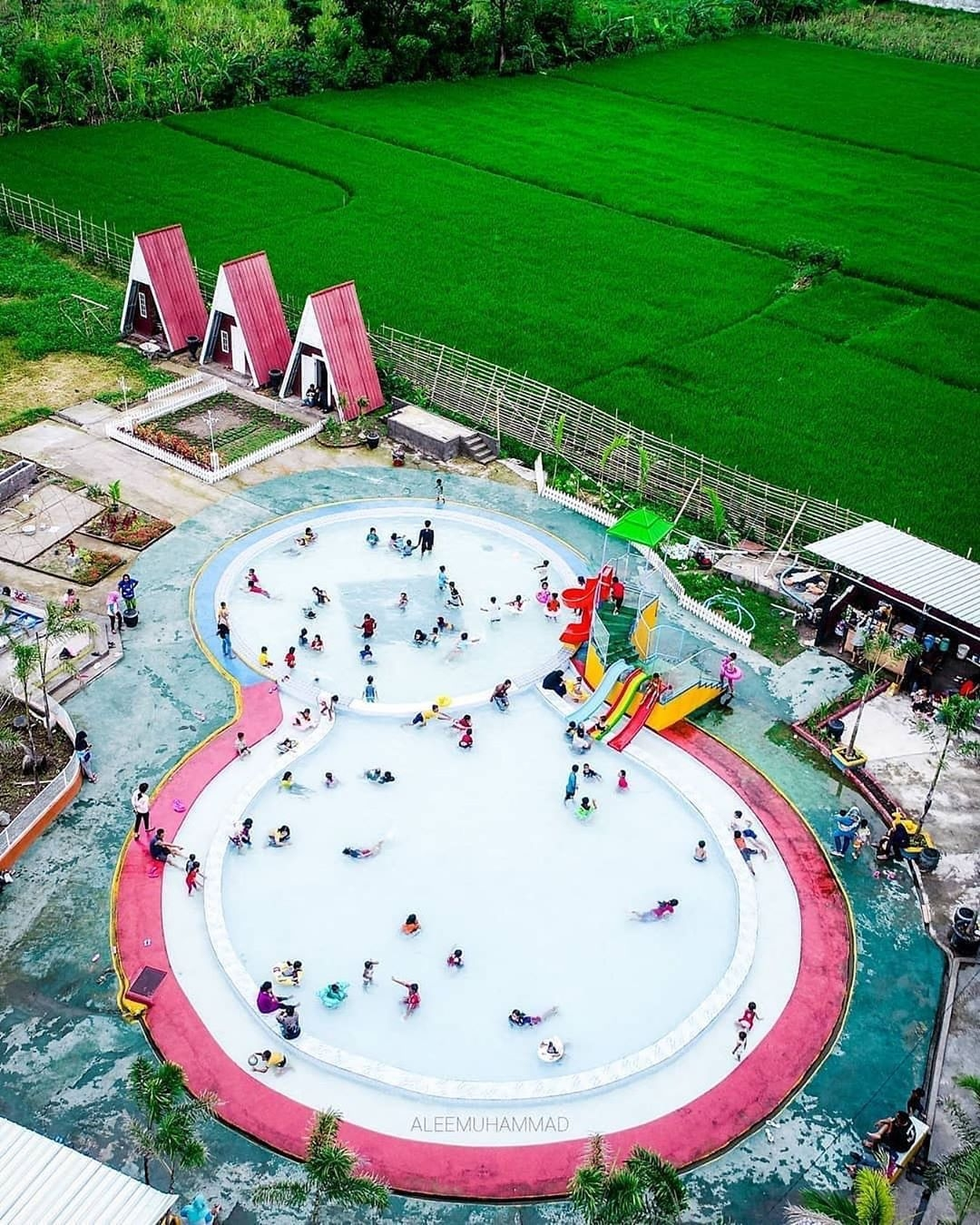 Wisata Kolam Renang Prilon Park Ketandan Klaten - ASEDINO